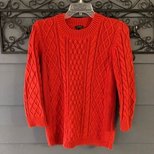 Talbots Small Cableknit Sweater